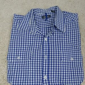 Kenneth Cole button up long sleeve